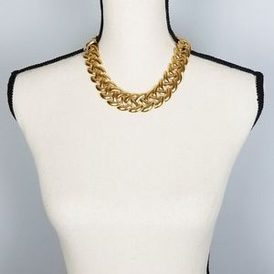 🌹Vintage Signed Napier Chunky Gold Chain Necklace